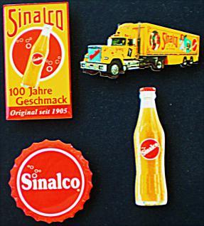 Sinalco Mini-Blechschild-Set (4er Set) - Vorschau