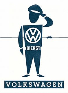 Magnet VW - Dienstmann