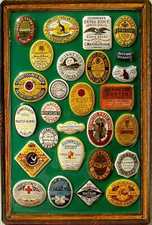 Guinness Framed Labels No.1 Blechschild