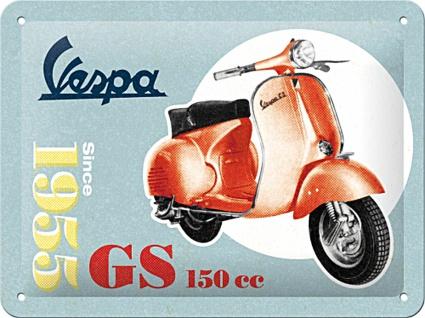 Vespa - GS150 Blechschild