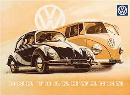 Magnet VW - Der Volkswagen