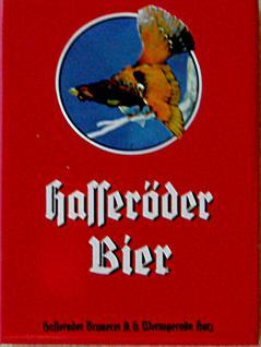 Magnet Hasseröder Bier, rot - Vorschau