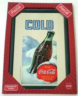 Coca Cola Spiegel Cold - Vorschau