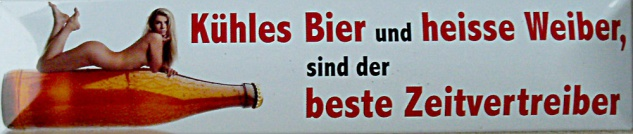 Magnet Kühles Bier und heisse Weiber - Vorschau