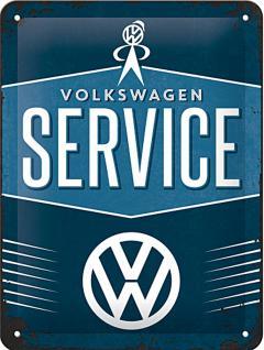 VW - Service Blechschild - Vorschau