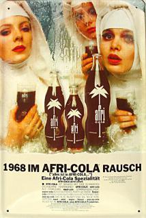 Afri Cola 1968 im Rausch Blechschild