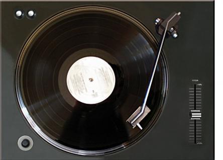 Magnet Retro Vinyl Player