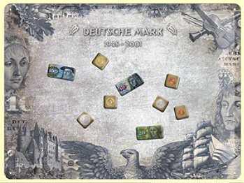Magnet-Tafel Deutsche Mark Blechschild - Vorschau
