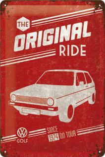 VW Golf - The Original Ride Blechschild