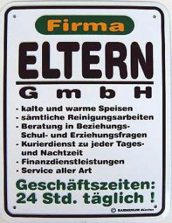 Funschild Firma Eltern GmbH - Vorschau