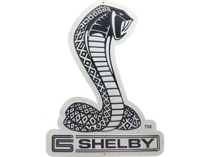 Ford - Mustang Shelby Blechschild