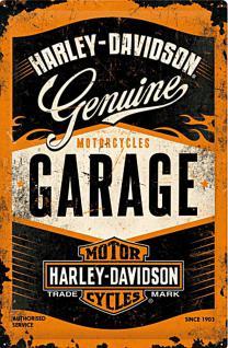 Harley-Davidson - Garage Blechschild