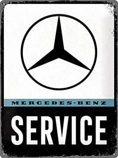 Mercedes-Benz - Service Blechschild