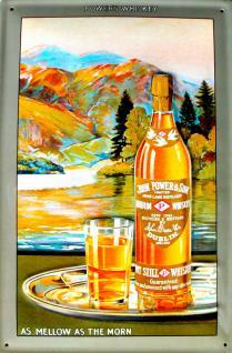 John Power & Son Dublin Whiskey Blechschild - Vorschau