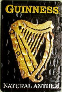 Guinness Natural Anthem Blechschild