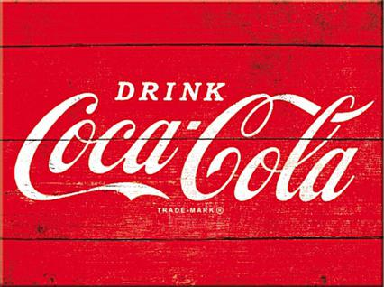 Magnet Coca-Cola - Logo red
