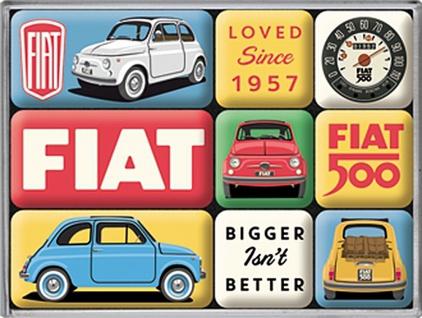 Magnet-Set - Fiat 500