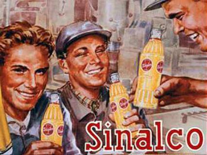 Magnet Sinalco - Bauarbeiter