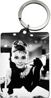 Schlüsselanhänger - Audrey Hepburn