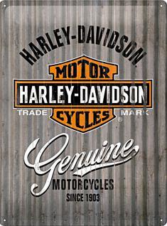 Harley-Davidson - Metal Wall Blechschild