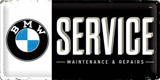 BMW - Service Blechschild