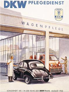 Magnet DKW Pflegedienst