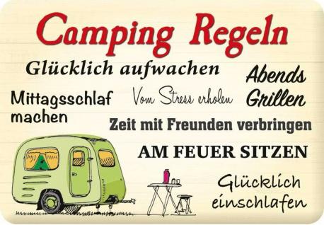 Kult-Hänger Camping Regeln