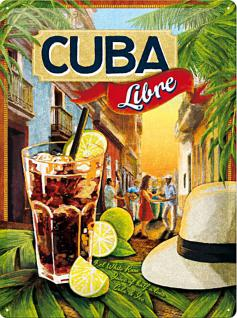 Cuba Libre Blechschild - Vorschau