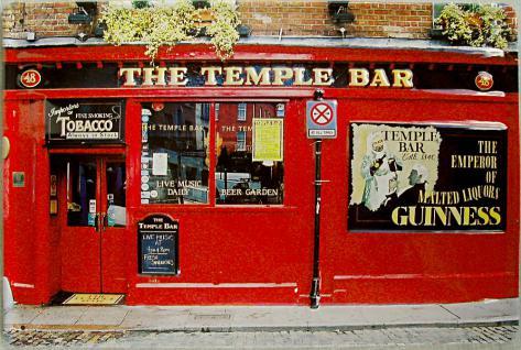 The Temple Bar Blechschild - Vorschau