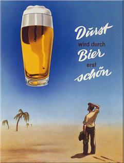 """Magnet Bier / Durst wird durch Bier erst schön"""" - Vorschau"""