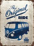 VW - The Original Ride Blechschild, 30 x 40 cm