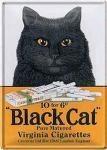 Blechpostkarte Black Cat Cigarettes