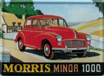 Morris Minor 1000 Mini Blechschild