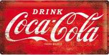 Coca-Cola - Logo Red Blechschild