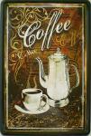 Coffee Blechschild