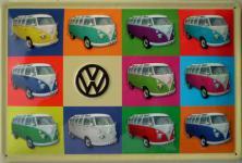 VW - Bulli Blechschild
