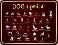 Fun-Schild Dog-i-pedia