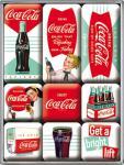 Magnet-Set Coca-Cola Diner