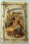 Stollwerck's Herz-Cacao Blechschild