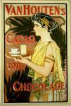 Vanhoutens Cacao und Chocolade Blechschild