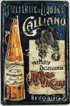 Galliano Blechschild