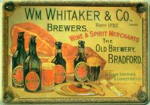 Blechpostkarte WM Whitaker