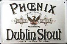 Phoenix Dublin Stout Blechschild