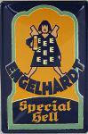 Engelhardt Special Hell Blechschild