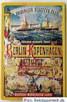 Kaiserlich Deutsche Post Berlin-Kopenhagen Blechschild