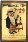 WM. Younger & Co's Scotch Ale Blechschild