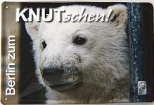 Knut-schen Blechschild
