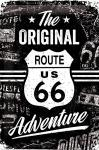 Route 66 - The original Adventure Blechschild