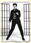 Blechpostkarte Elvis Jailhouse Rock