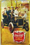 Coca Cola Oldtimer Blechschild
